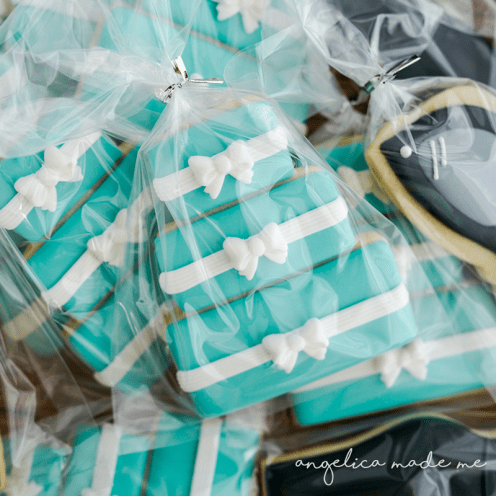 Breakfast at Tiffany's Cookie Set