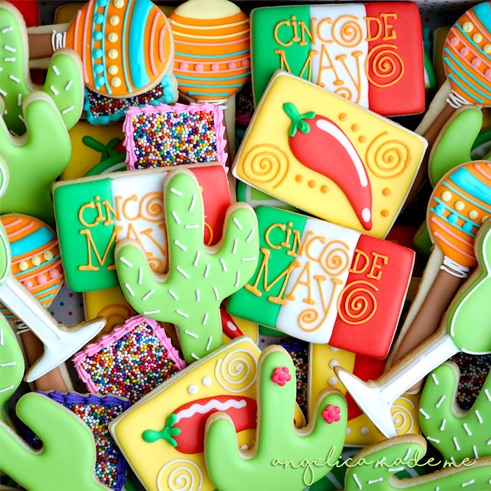 Cinco de Mayo Cookie Set