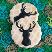 Deer Silhouette Cookies