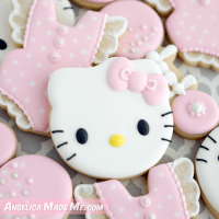 Custom Decorated Baby Shower Cookies