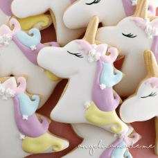 Pastel Unicorn Cookies