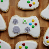 Xbox Game Controller Sugar Cookies