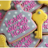 Home Sweet Home Sugar Cookies