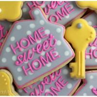 Home Sweet Home Sugar Cookies