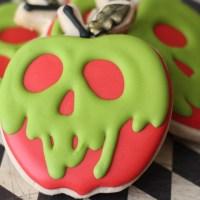 Poison Apple Sugar Cookies