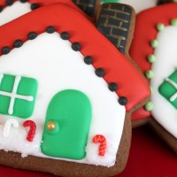 Gingerbread Christmas Cottages