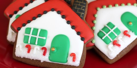 Christmas Cottage Cookies