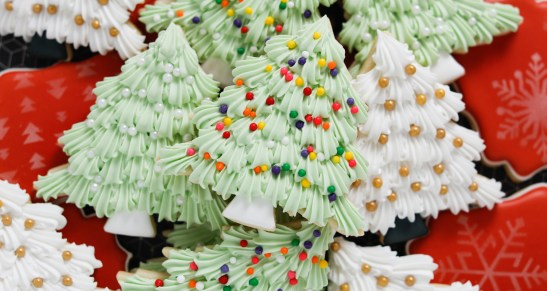 How to Decorate Easy Christmas Tree Cookies