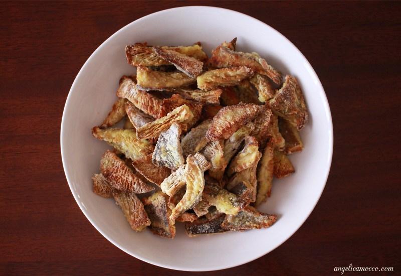 chips-di-funghi-al-forno-croccanti-leggere