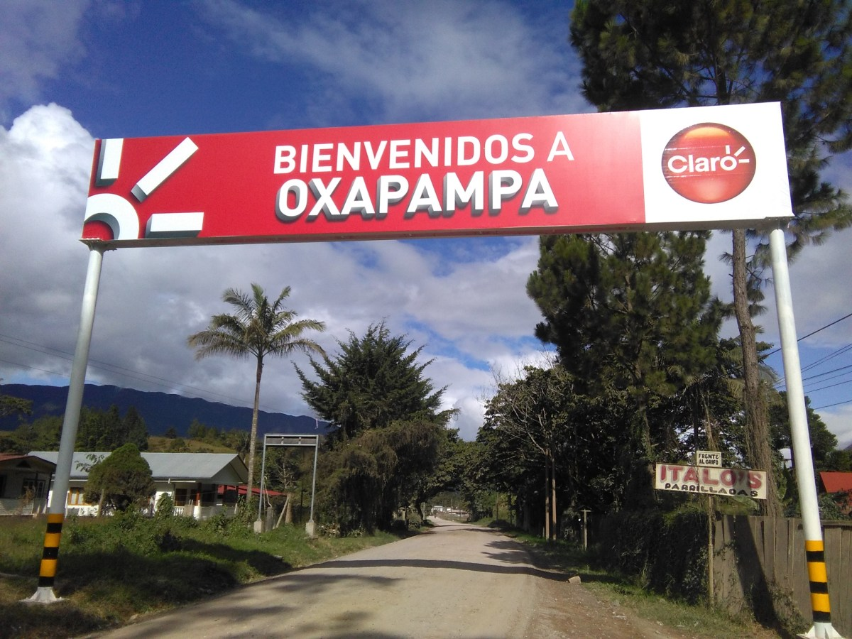 First Impressions of Oxapampa, my site