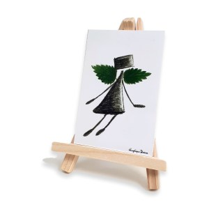 mini art print angel like