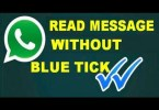 whatsapp blue ticks - How To Read Whatsapp Messages Without Blue Ticks