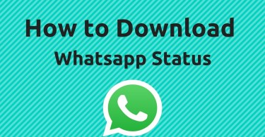 How To Save WhatsApp Status - How To Save WhatsApp Status: Videos and Images