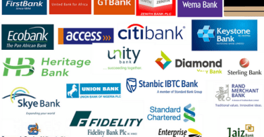 all the Nigeria Banks' transfer codes