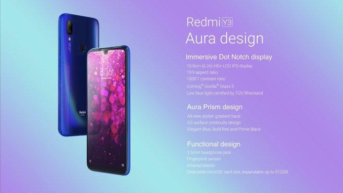 Xiaomi Y3