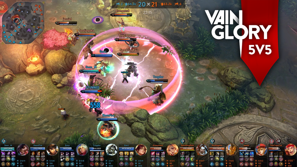 Best free Android games (Vainglory)