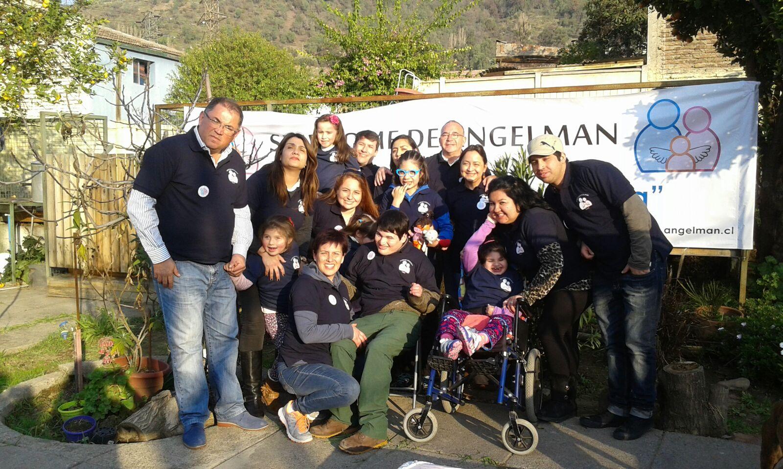 Reunion Familias Angelman Chile en Santiago