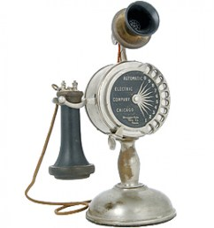 automatic electric candlestick dial telephone [ 971 x 1000 Pixel ]