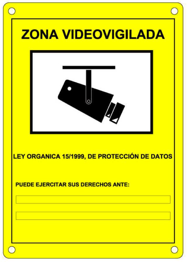 LOPD vigilancia cámaras