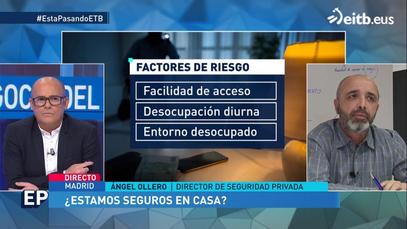 Ángel Olleros robo viviendas factores riesgo