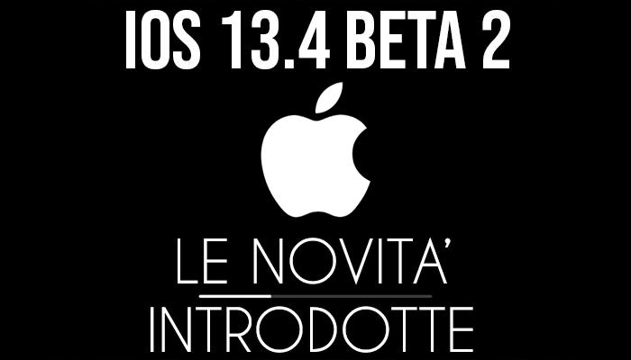 iOS 13.4 Beta 2 - banner