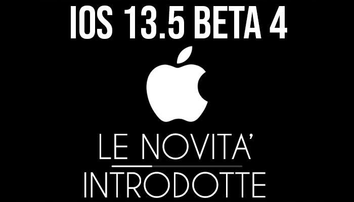 iOS 13.5 Beta 4 - banner