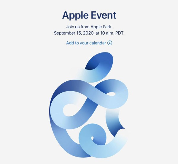 Apple Event 2020 Time Flies