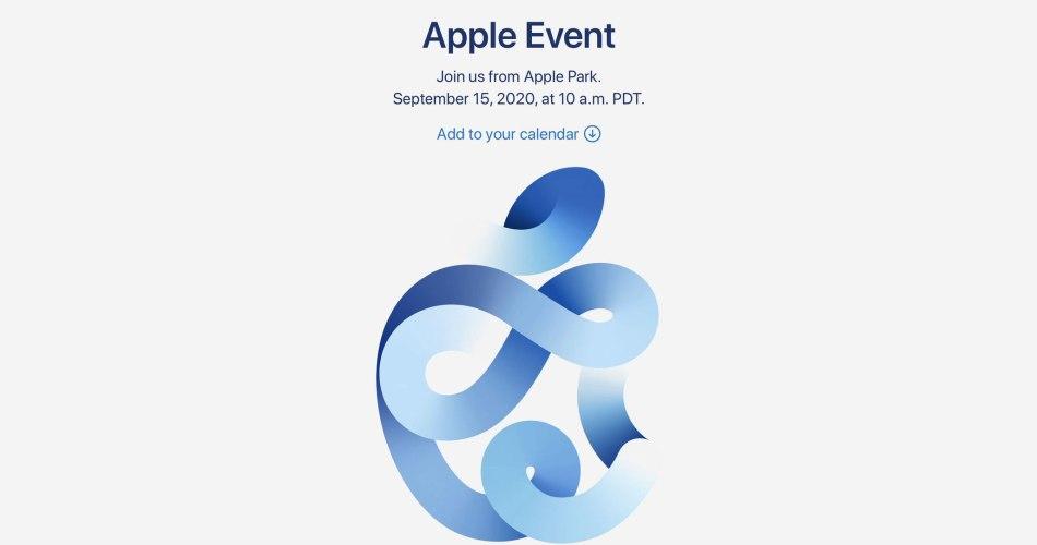 Apple Event 2020 Time Flies