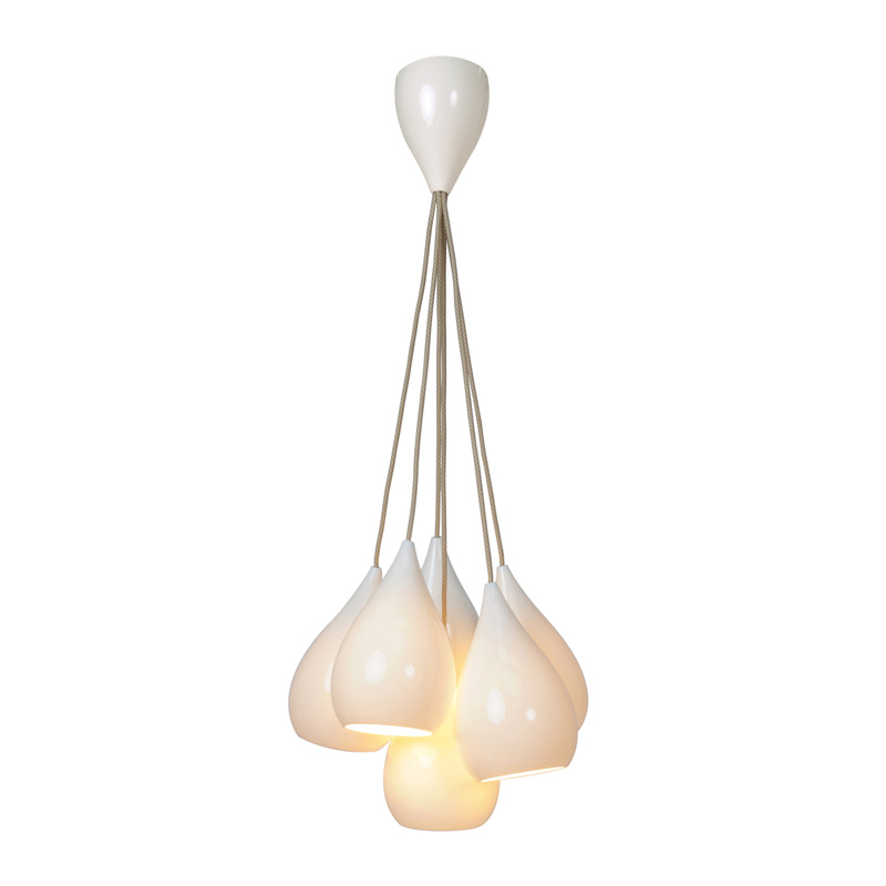 Bone China Pendant Light