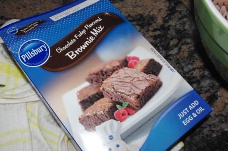 pillsbury brownies box mix