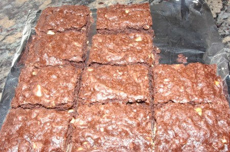 pillsbury brownies box mix with added nuts