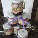 cupcake-in-a-jar, wedding favour, party favour