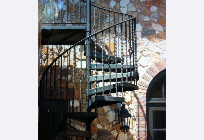 Wrought Iron Spiral Staircase Orange County Ca Angels   Iron Works Spiral Stairs   Stair Railing   Stair Case   Stair Treads   Handrail   Wrought Iron