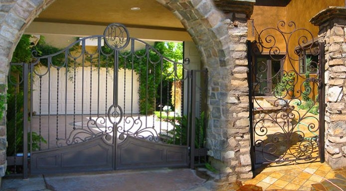 Iron Stair Railings Gates Fencing Doors Orange County Ca | Steel Gates And Stairs | Dreamstime | Handrail | Stainless Steel | Fence Gate | Egress