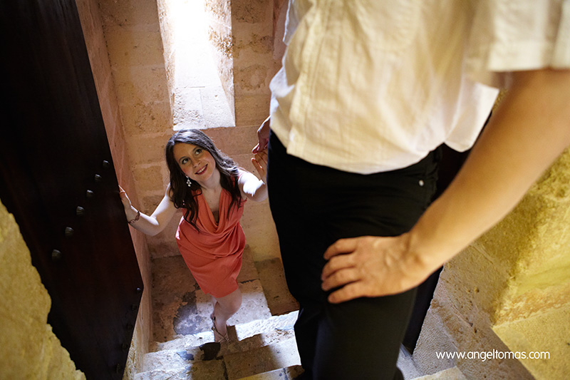 Reportaje de Preboda en el Castillo de Almodóvar (Córdoba) por Ángel Tomás Fotógrafo