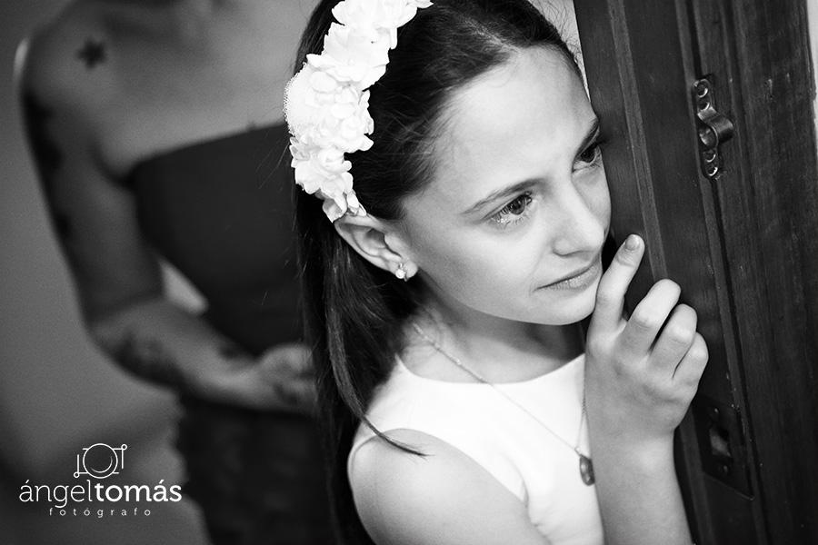 Lágrimas de emoción. Boda María y Salva. Ángel Tomás Fotógrafo de bodas en Córdoba.