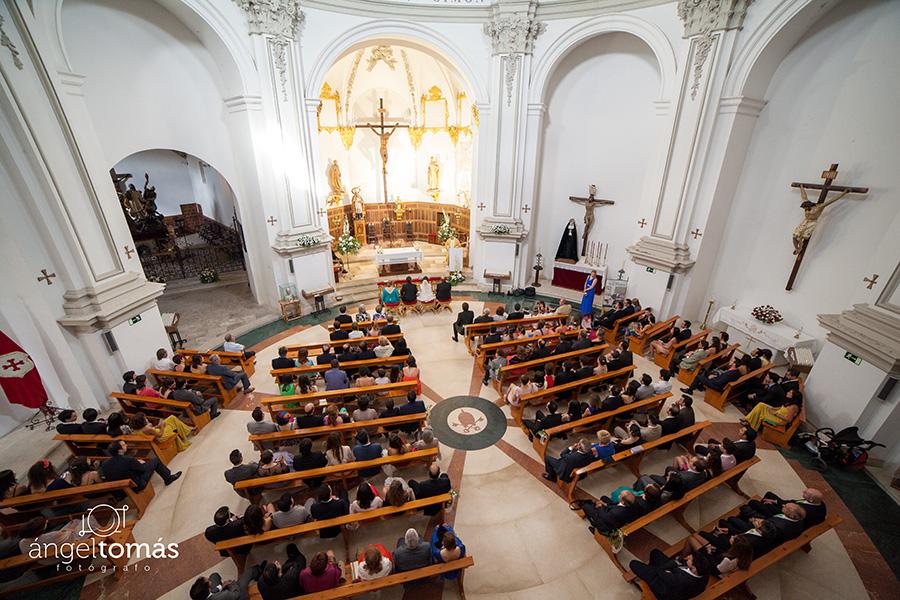 Boda Antonio y Pili. Iglesia de San Pedro de Cuenca.