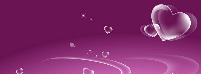 Couverture amour 25 Facebook 851x315 gratuit