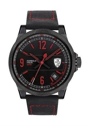 SCUDERIA FERRARI Mens Wrist Watch Model FORMULA ITALIA Made in Italy MPN 830271