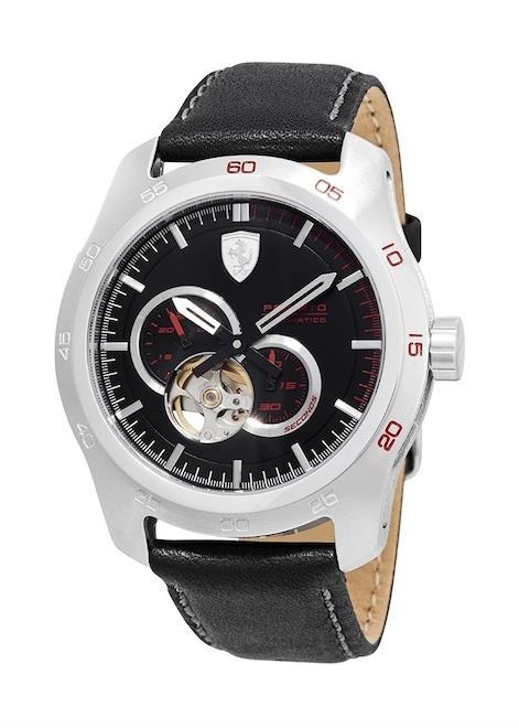 SCUDERIA FERRARI Mens Wrist Watch Model GRAN PREMIO AUTOMATIC MPN 830442
