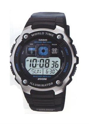 CASIO Mens Wrist Watch MPN AE-2000W-1A