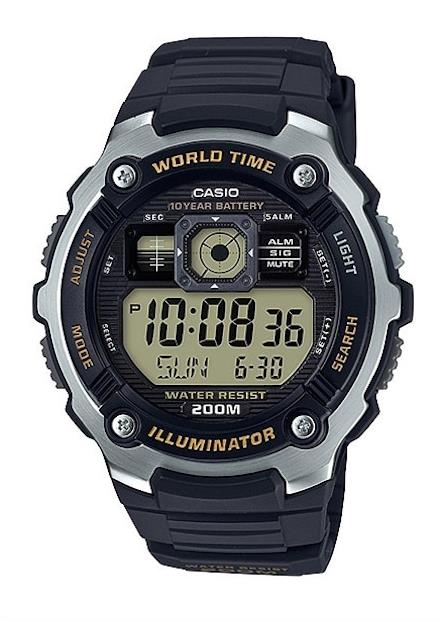 CASIO Mens Wrist Watch MPN AE-2000W-9A