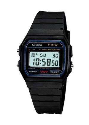 CASIO Unisex Wrist Watch MPN F-91W