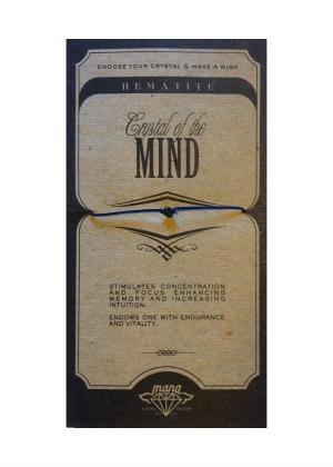 MANA MK JEWELLERY ITEM MODEL HEMATITE/MIND MPN MANAENGC03