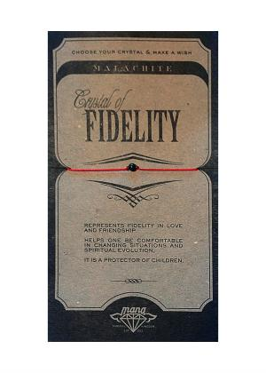 MANA MK JEWELLERY ITEM MODEL MALACHITE/FIDELITY MPN MANAENGC05