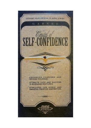 MANA MK JEWELLERY ITEM MODEL GARNET/SELF-CONFIDENCE MPN MANAENGC06