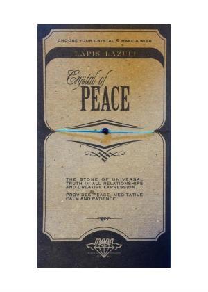 MANA MK JEWELLERY ITEM MODEL LAPISLAZULI/PEACE MPN MANAENGC07