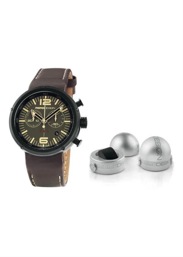 MOMO DESIGN Mens Wrist Watch Model EVO CHRONO MPN MD1012BR-32