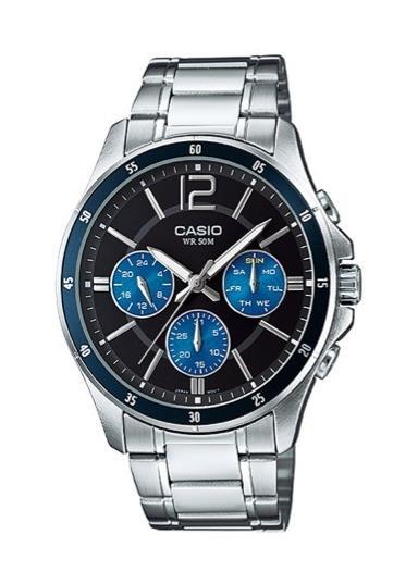 CASIO Mens Wrist Watch MPN MTP-1374D-2A