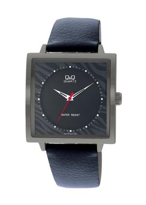 Q&Q Mens Wrist Watch Model GENT SQUARE BLACK - NEUTRAL BOX MPN Q425J502Y